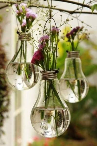 Upcycling bulbs