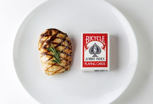 serving size deck of cards